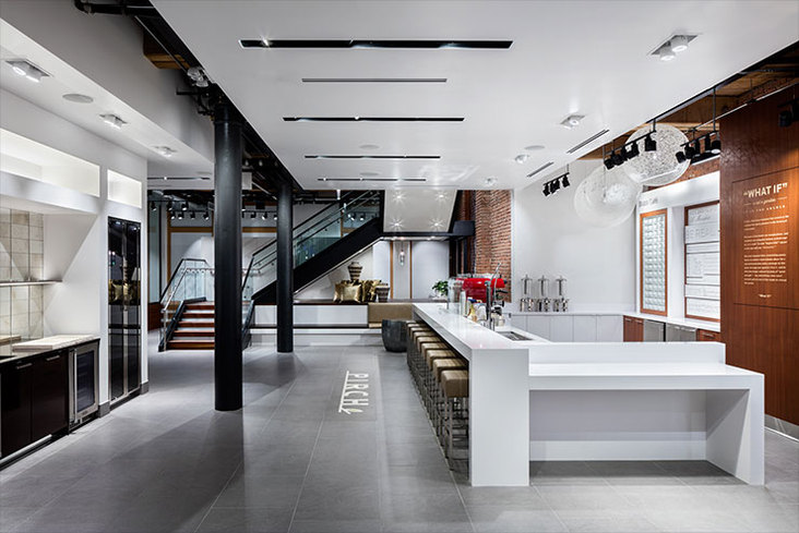 kitchen design showrooms nyc a new york showroom state of mind kitchen amp bath business 607