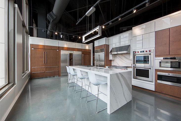 Ferguson Kitchens Ge Monogram Design Center To Open In Chicago Kitchen Design By Schneider 100