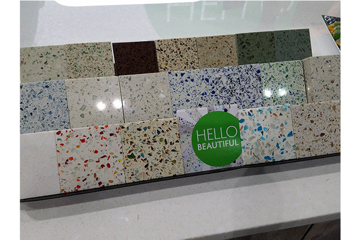 Awesome EOS Solid Surfaces Offer The Look Of Granite At A Lower Price Point And Are  Offered In A 1 ¼ In. Size For Countertops. The Material Is Renewable, ...