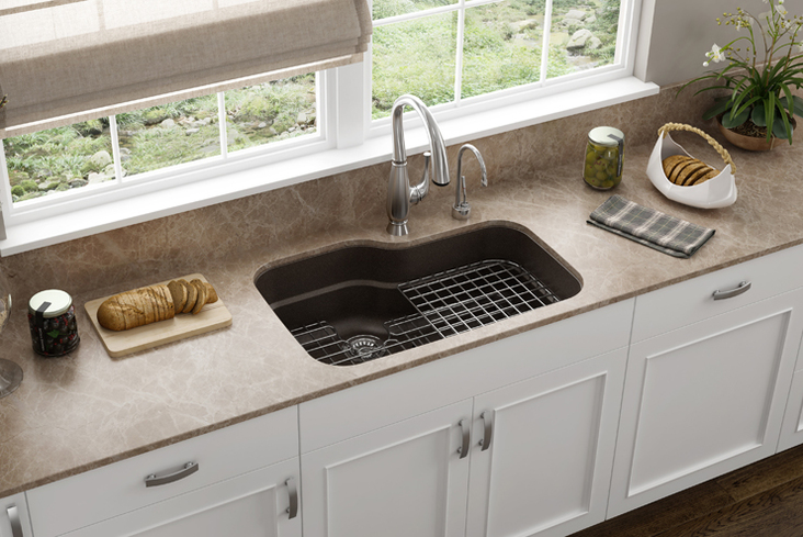 these sinks bring frankes superior quality craftsmanship performance and innovation to the diyer - Kitchen Sink Franke