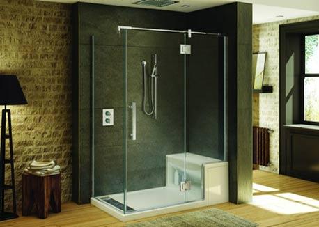 Amazoncom Teak ADA Wall Mounted Shower BenchSeat 18
