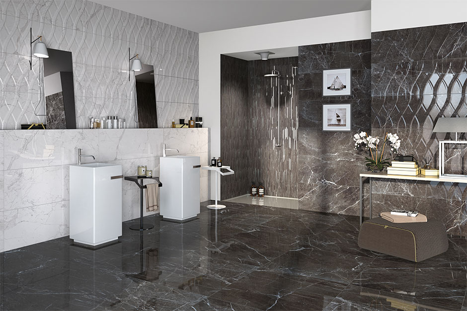 The Grand Tour Collection From Naxos Finibecgroup Is Made Up Of White Body Porcelain Wall Tile And Stoneware Flooring It Inspired By Marble