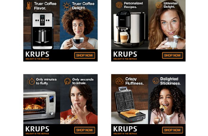 New KRUPS Campaign Invites Consumers To U201cDelight In The Detailsu201d