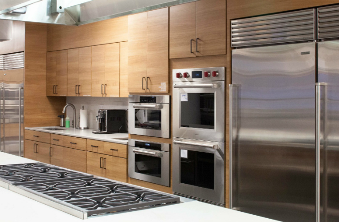 americas test kitchen debuts space with donated sub zero and wolf appliances - Wolf Kitchen