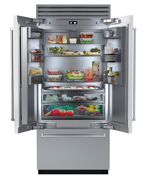 The 36-inch French Door Refrigerator from BlueStar