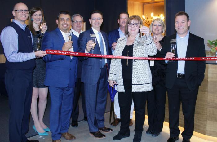 progress lighting expands renovates showroom at dallas market