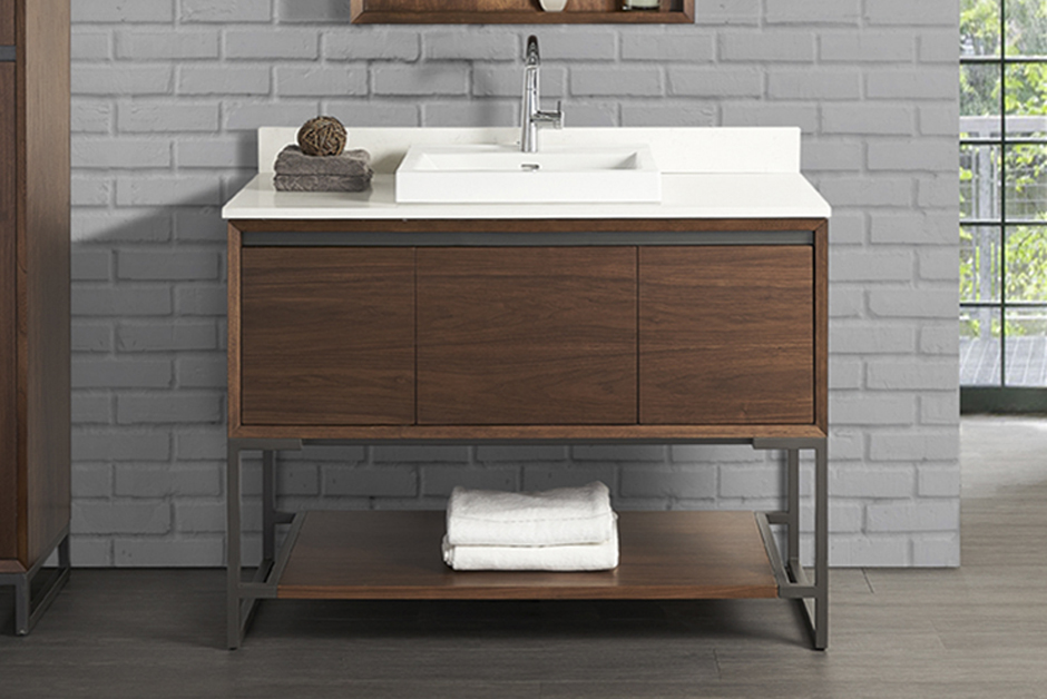 ... In A Modern Light Gray Finish; The Shaker Americana Will Enhance Any  Bathroom Setting. Http://www.fairmontdesigns.com/bath /collection/shaker Americana/