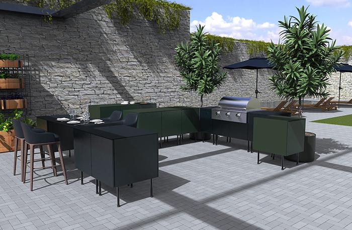 Brown Jordan Outdoor Kitchens | Kitchen & Bath Business
